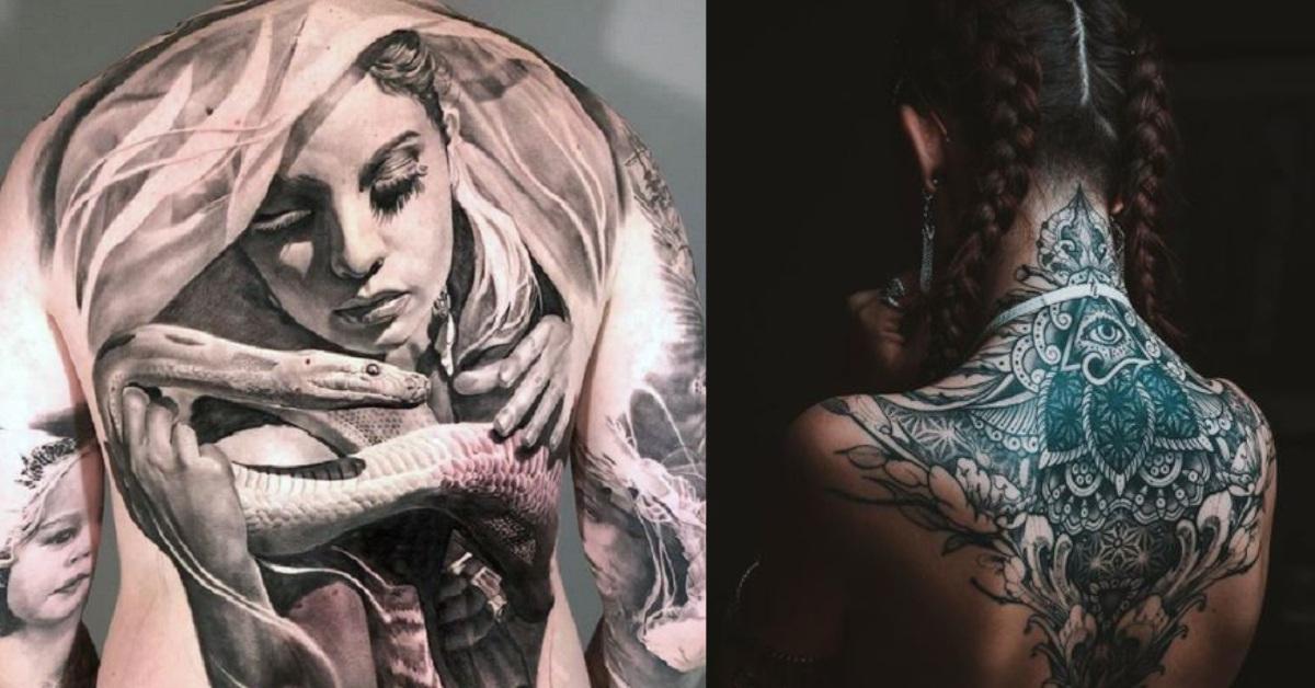 19 tatuatori che hanno usato la schiena dei clienti come tele per le proprie opere d'arti.
