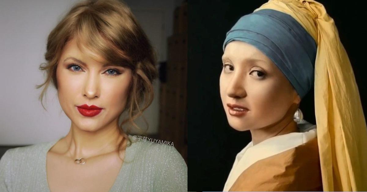 16 trasformazioni di una blogger cinese che tramite il make-up diventa chi vuole