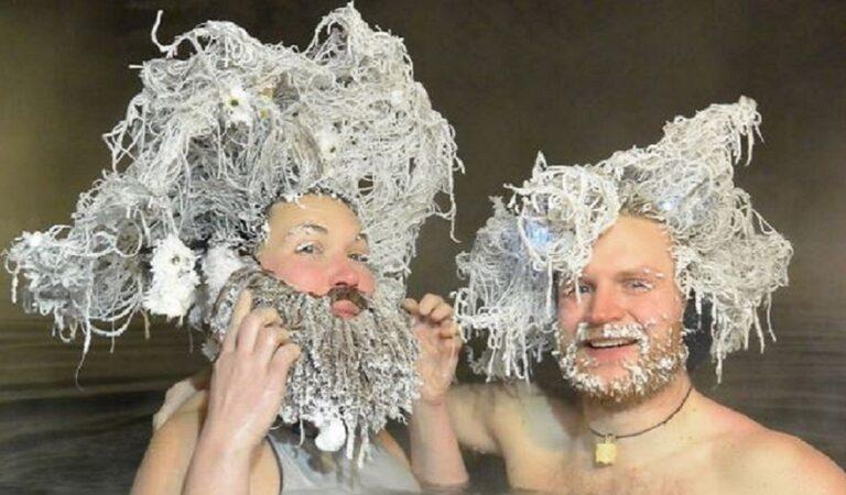 """Le acconciature dei vincitori del """"Concorso per il congelamento dei capelli"""" in Canada sono sbalorditive"""