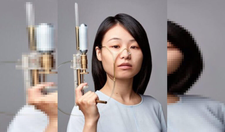 Uno studente di design crea una pistola che raccoglie le lacrime, le congela e le spara