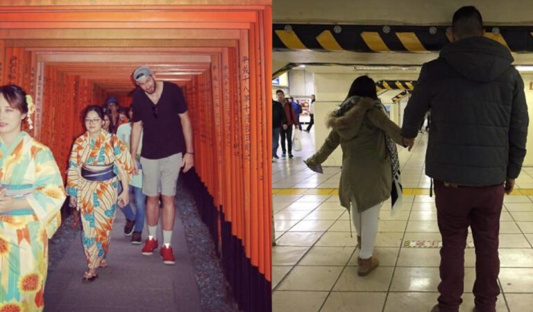 26 persone che sono state in vacanza in Giappone e hanno scoperto di essere troppo alte per il paese