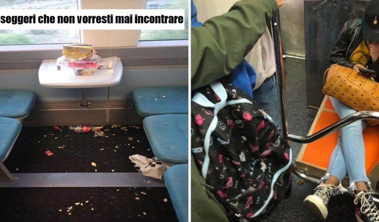 I passeggeri che non vorresti mai incontrare: 23 persone incivili incontrate sui mezzi
