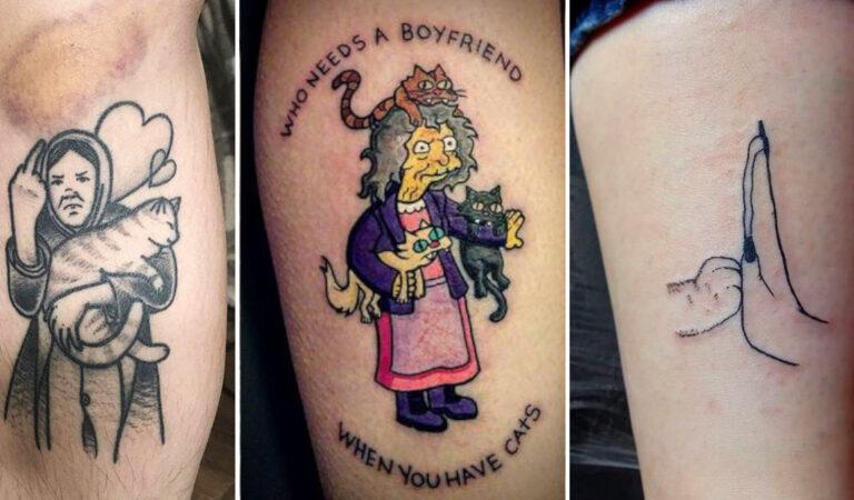 Tatuggi di gatti: 23 persone soddisfatte dei loro particolari tatuaggi tematici