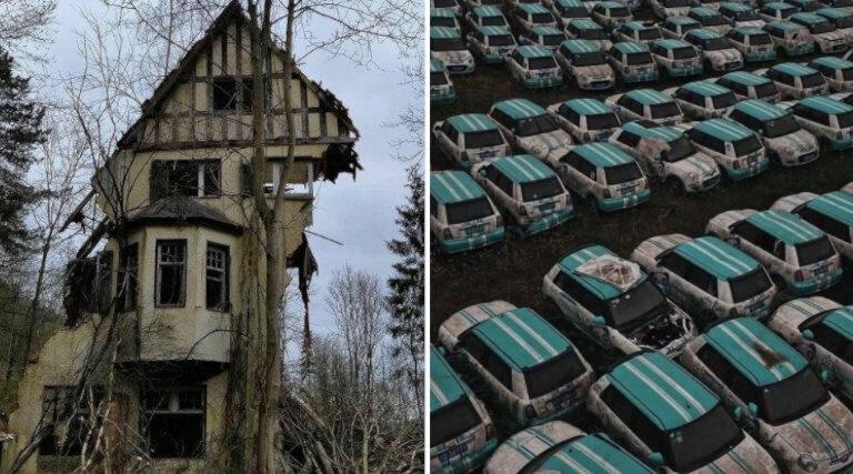 18 luoghi abbandonati che affascinano e attraggono con la loro spaventosa bellezza