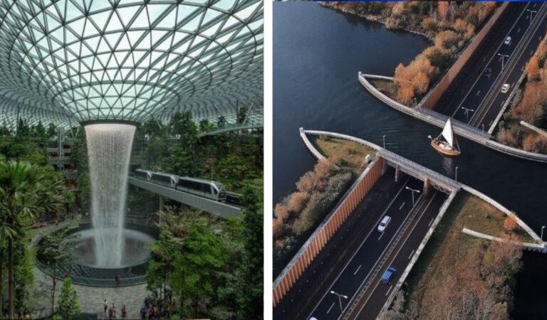 Ingegneri geniali! 24 tra le più straordinarie e particolari costruzioni del mondo.