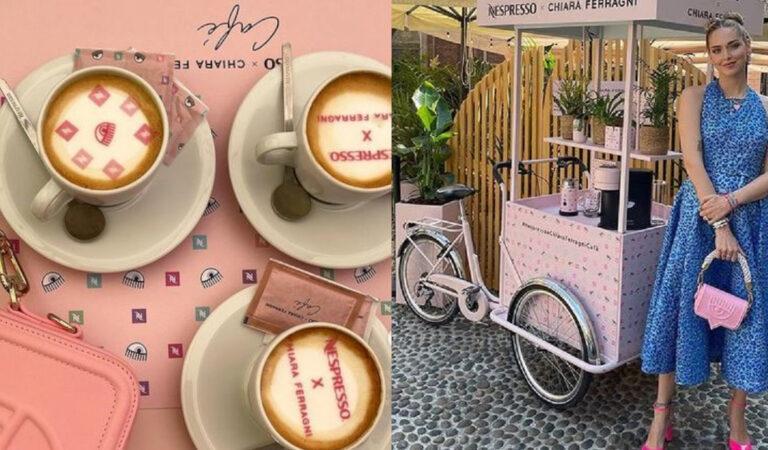 Chiara Ferragni apre il suo Temporary bar a Milano. Sapete quanto costa il caffe?