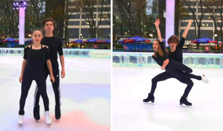 """I fratelli pattinatori sul ghiaccio danno una performance mozzafiato sulle note di """"Nothing Else Matters"""""""