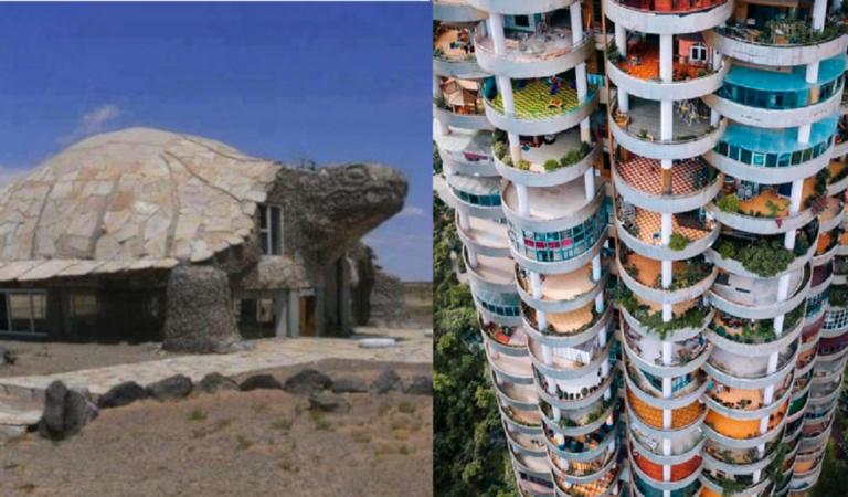 Architetti fantasiosi: 22 Edifici bizzarri che sembrano splendidi e bizzarri allo stesso tempo