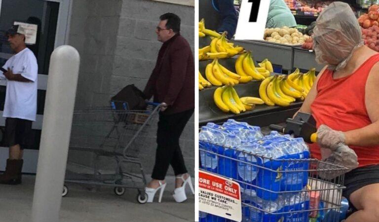 Fare la spesa in modo fuori dal comune: 16 persone e situazioni bizzarre viste in un supermercato
