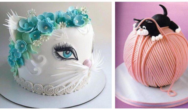 Che meraviglia: 21 torte da sogno per gli amanti dei gatti, belle e buone