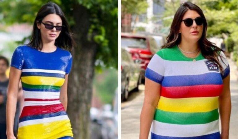 16 outfit di celebrità replicati da una influencer americana che dimostra che lo stile non ha taglie