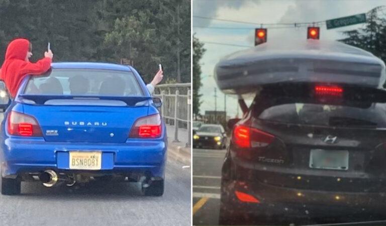 18 conducenti chiaramente indifferenti alle  regole della strada.