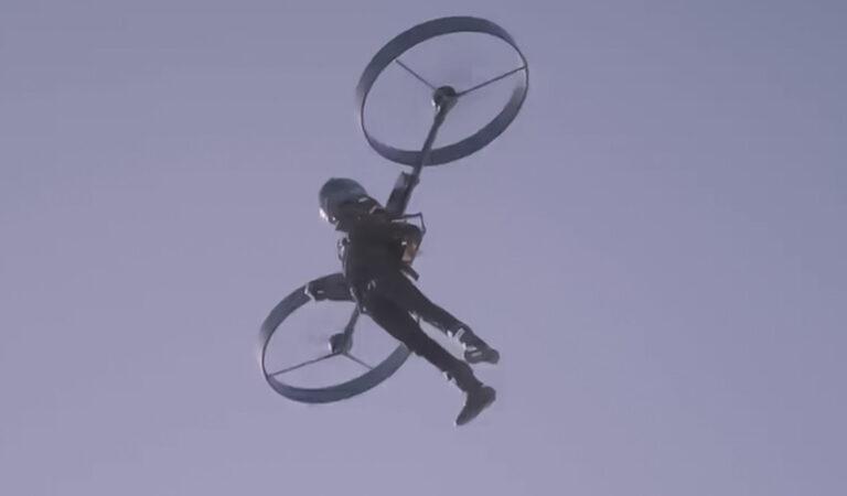 Viene effettuato il primo volo di prova del jetpack CopterPack (VIDEO)