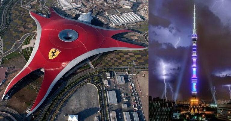 Sembrano set di film di fantascienza ma si tratta di 19 edifici reali in giro per il mondo
