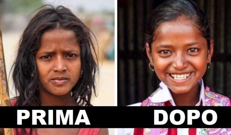 Fotografo del Bangladesh aiuta i bambini poveri ad andare a scuola e mostra come li cambia. (10 Foto prima e dopo)
