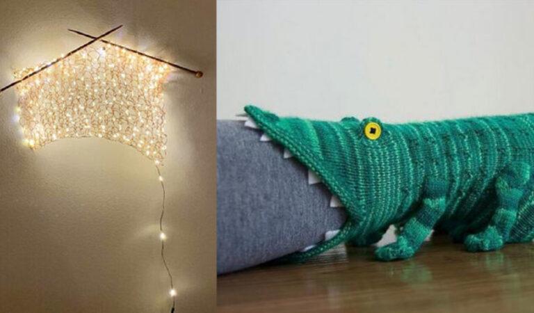 18 persone creative che hanno portato il lavoro a maglia ad un altro livello