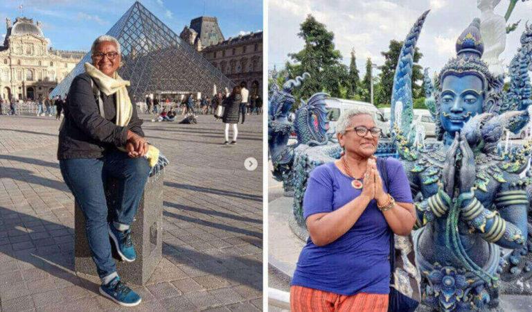 """61enne lascia la famiglia per viaggiare per il mondo: """"La nonna non deve crescere i nipoti"""""""