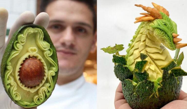 13 Frutti intagliati come fossero marmo. L'eccezionale talento di Daniele Barresi