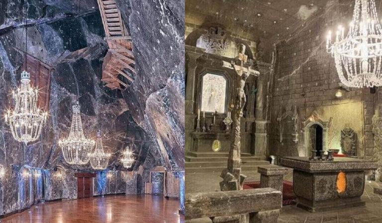 E' uno dei luoghi più affascinanti della Polonia: l'incredibile miniera di sale di Wieliczka (12 foto)