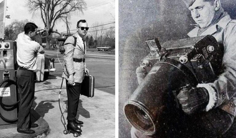15 straordinarie foto di tecnologie del passato che oggi  sembrano estremamente strane