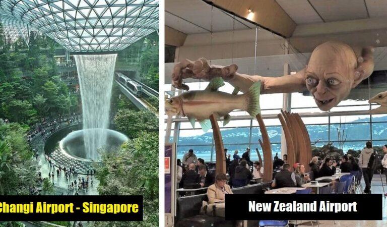 20 Soluzioni creative in aeroporti internazionali che rendono il viaggio un'esperienza piacevole