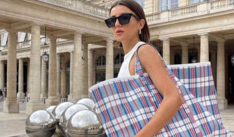 """Balenciaga viene criticato per una """"borsa di mercato"""" che vende per più di $ 2.000"""