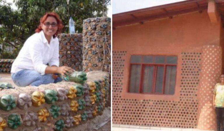 Avvocato ha costruito più di 300 case con materiali riciclati per famiglie a basso reddito