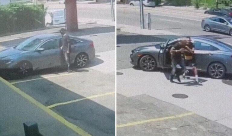 VIDEO: Un ladro cerca di rubare l'auto di un combattente UFC e scopre subito perché è stata una cattiva idea