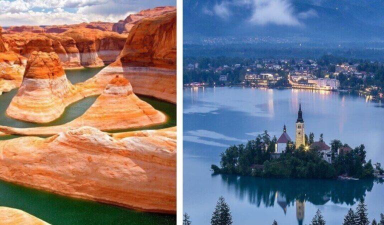 Paesaggi mozzafiato: 15 dei laghi più belli del mondo da vedere almeno una volta nella vita