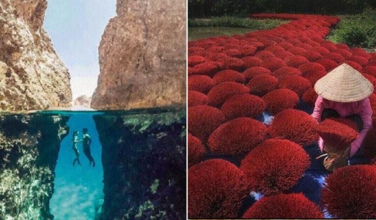 14 foto di luoghi incantevoli e momenti incredibili