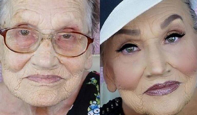 16 donne con sguardi luminosi ottenuti grazie all'opera di talentuosi make up artist