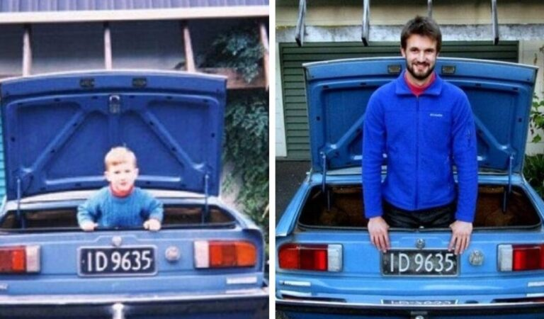 Nonostante il passare del tempo, alcune cose non cambiano negli anni: 16 foto