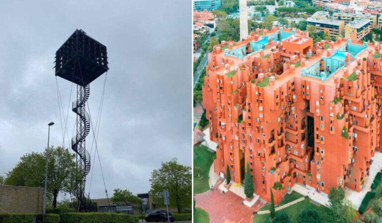 Edifici originali ma strani: 16 architetti che non hanno posto limite alla loro creatività