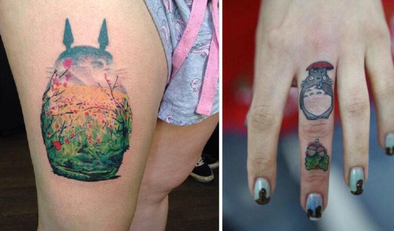 14 tatuaggi ispirati al mondo animato di Hayao Miyazaki