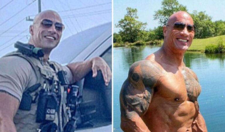 Questo poliziotto dell'Alabama è un clone esatto di Dwayne Johnson e ha conquistato i social