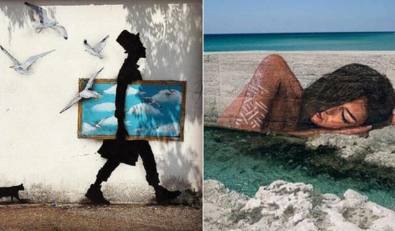 13 eccezionali opere di Street Art che ti piacerebbe vedere anche nella tua città