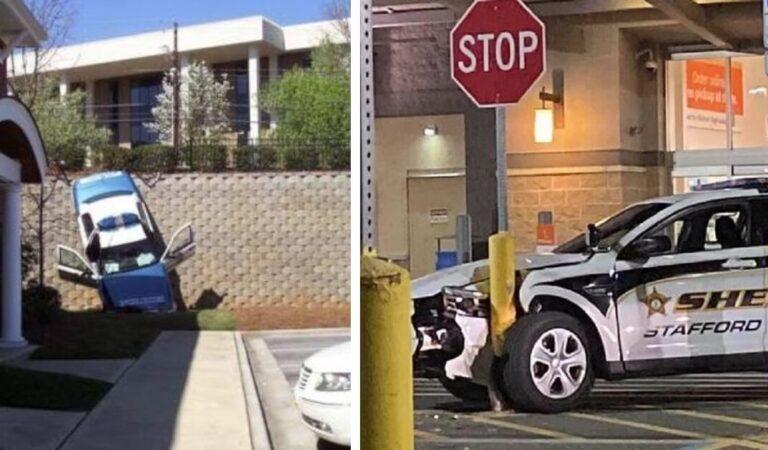 15 agenti che hanno dovuto affrontare degli inconvenienti imbarazzanti alla guida