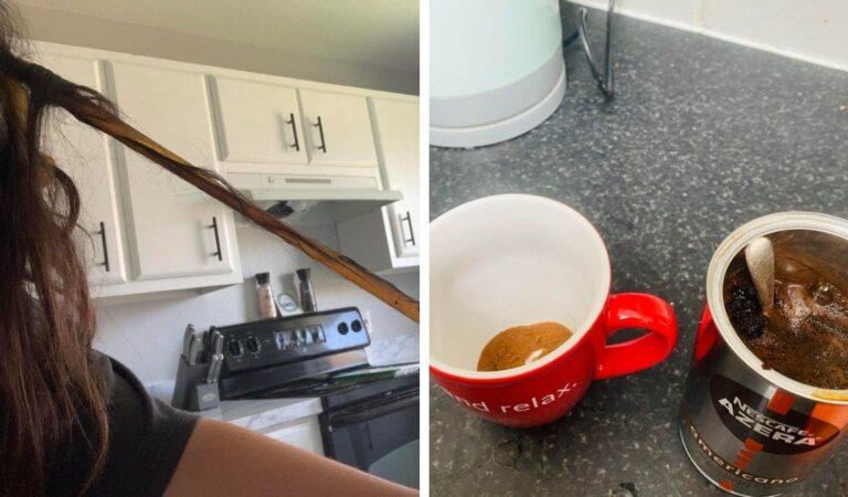 16 foto che mostrano che la mattina è il momento in cui capitano più imprevisti fastidiosi