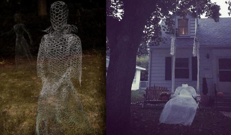 10 Sagome spettrali realizzate per ricreare un'atmosfera misteriosa e inquietante per Halloween